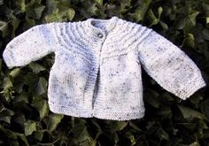 7 hr baby sweater. Baby cardigans knitting patterns easy and free