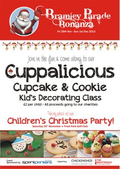 Bramley Bonanza Kid Cupcakes, Cupcake Cookies, Childrens Christmas, Cancer Support, Charity, Kids, Toddlers, Boys, Children