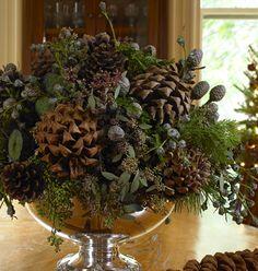Pine Cone Centerpiece