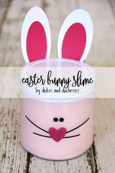 easter bunny slime