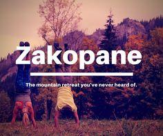 Visit Zakopane, Poland for an unforgettable experience.