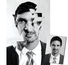 Abstract Portraits: how to create a striking photo montage using clipped shapes (Photoshop tutorial). Experimental Photography, Abstract Photography, Digital Photography, Portrait Photography, Photomontage, Photo Class, Ap Studio Art, Photography Lessons, Photography Ideas