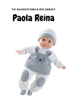 Tie najroztomilejšie - a ešte aj voňavé! - bábiky nájdete určite pod značkou Paola Reina. Nevedno, čo nás zaujme viac ich jemné telíčko alebo roztomilé oblečenie. #babika Children, Boys, Kids, Sons, Kids Part, Kid