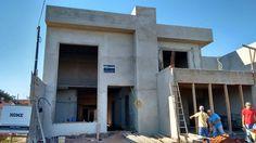 Projeto arquitetônico com nossa assinatura em fase de construção na cidade de Paraguaçu Paulista-Sp.
