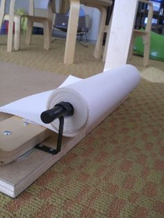 attach roll of paper by shiso mama, via Flickr