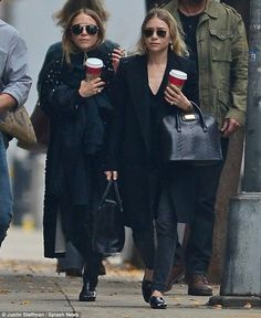 Ashley and Mary-Kate Olsen wear matching looks after surgery rumours #dailymail