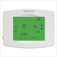Shop for Honeywell Programmable Wi-fi Thermostat with Touchscreen. Get free delivery On EVERYTHING* Overstock - Your Online Home Automation & Security Store! Energy Bill, Solar Panels For Home, Water Conservation, Home Automation, Energy Efficiency, Digital Alarm Clock, Wifi, Improve Yourself, Day
