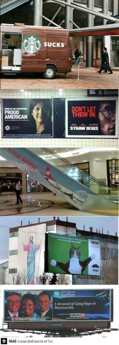 Bad Advertising Placement