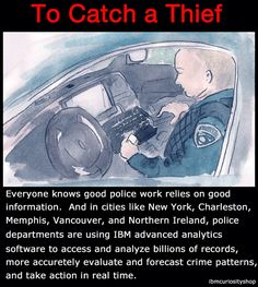 The Charleston Police Department is working with IBM to assist the city's more than 400 police officers to more accurately evaluate and forecast crime patterns. The department is using IBM predictive analytics software to better allocate its resources and identify criminal hot spots to prevent crime and increase public safety.      www-03.ibm.com/press/us/en/pressrelease/37985.wss