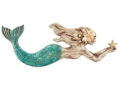Mermaid Resin Wall Decor- Hobby Lobby