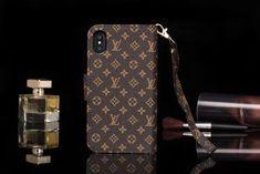 Classic LV Gucci iPhone X iPhone 7 Plus Wallet Case coque monogram