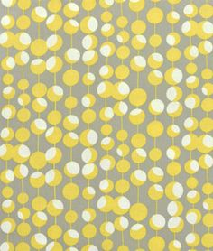 Amy Butler Midwest Modern Martini Mustard from Designed by Amy Butler for Westminster/Rowan Fabrics. Colors include mustard and ivory on a putty gray background. Create quilts, quilting projects, fashionable apparel or home decor. Amy Butler Fabric, Motifs Textiles, Yellow Fabric, Cool Fabric, Retro Fabric, Home Decor Fabric, Linen Fabric, Curtain Fabric, Fabric Art