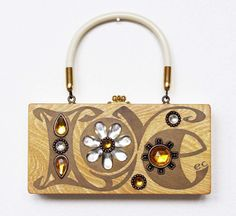 Enid Collins LOVE Box Bag by niwotARTgallery on Etsy, SOLD