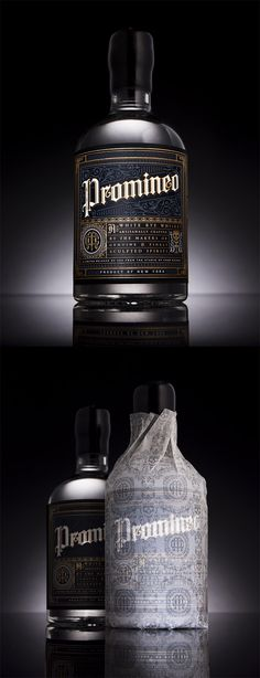 Promineo White Rye Whiskey by Chad Michael Studio