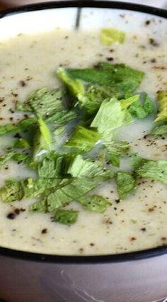 Instant Pot Cream of Celery Soup