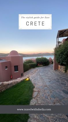 East Crete Greece - the stylish guide המדריך למזרח כרתים יוון the Domes of Elounda from domes resorts, the best beaches restaurants sea, villages, and tips you wish to find when traveling to Crete Crete Island Greece, Good Things, Stylish, Resorts, Beaches, Restaurants, Traveling, Sea, Tips
