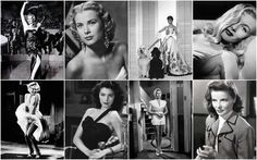 Costume design history, film history, fashion history, Old Hollywood style, style of the movies Old Hollywood Style, Hollywood Fashion, Vintage Hollywood, Classic Hollywood, Crime, Veronica Lake, Dramatic Classic, Katharine Hepburn, Audrey Hepburn