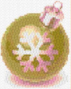 Cross Stitch   Christmas Ball xstitch Chart   Design
