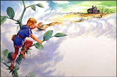 Image result for jack and the beanstalk illustration