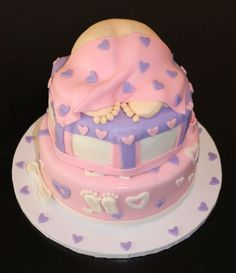baby shower themes for girls | Baby Shower Cake Ideas | Fun Baby | http://ilovecolorfulcandies.blogspot.com