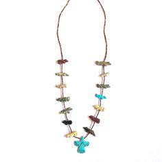 Zuni Fetish Necklace / Demimonde Jewelry