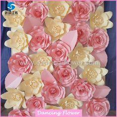 flores de cartulina para decorar - Buscar con Google