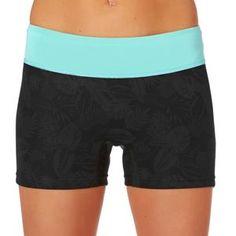 Xcel Wetsuit Shorts - Xcel Womens 3/0.5mm Centrex Paddle Wetsuit Shorts - Black/ Honey Dew