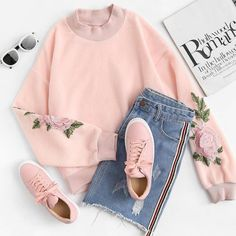 Korean Fashion Trends you can Steal – Designer Fashion Tips Teenage Outfits, Teen Fashion Outfits, Cute Fashion, Outfits For Teens, Girl Outfits, Fashion Ideas, Fashion Clothes, Style Clothes, Fashion Fashion