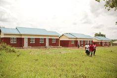 Awere Secondary School in Uganda, restored by Invisible Children's Schools for Schools program Invisible Children, School Programs, Secondary School, Uganda, Schools, Restoration, Bring It On, Student, Outdoor Structures