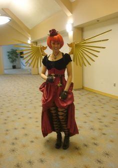Steampunk Angel Enforcer by Arandale, via Flickr
