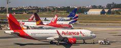 https://flic.kr/p/WHz6MZ | Avianca A320 (GRU) | Avianca Brasil Airbus A320-214(WL) - PR-OCB - cn 6139. Movement at GRU Airport in Brazil - Sao Paulo Gurarulhos International Airport - GRU SBGR - Aeroporto Internacional de São Paulo, Cumbica - Guarulhos, SP - Brasil.