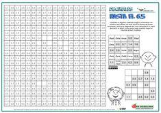 Cuadrado mágico con decimales - Actiludis Decimal, Word Search, Periodic Table, Words, Elementary Schools, Classroom, Periotic Table, Horse