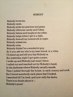 where the sidewalk ends quotes | shell silverstein #nobody #friendship #Poem