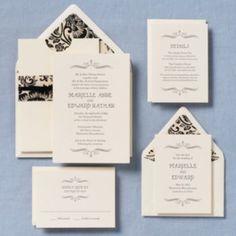 Vintage Marquis Wedding Invitation - Marielle & Edward | Paper Source