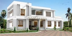 Arkitecture Studio :: Architectural interior and exterior designers,Calicut,kerala,india Interior And Exterior, Interior Design, Kerala India, Modern House Design, House Plans, Studio, Architecture, House Styles, House Elevation