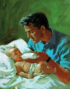 Arthur Saron Sarnoff (American, 1912-  2000) ~ I know, it's the dad . . .