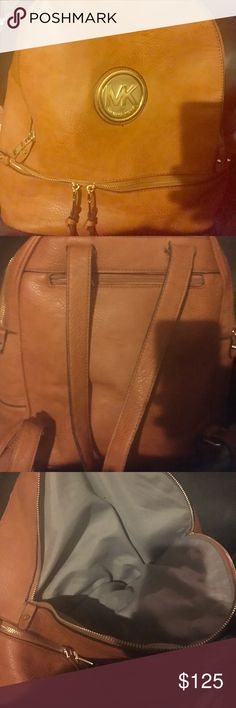 Micheal Kors backpack , used but beautiful Very sturdy hardly ever used bought it for my daughter but she only used it a couple times very well kept up excellent condition Michael Kors Other