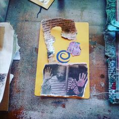 Creating with whatever's on the table. #journeycircles