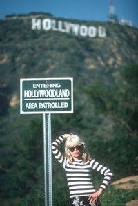 Debbie Harry in Hollywood