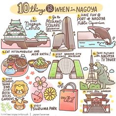 10 things to do when in Nagoya, Japan