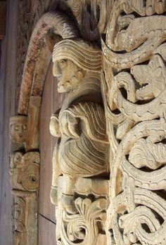 Heddal stavkyrkje - sørportalen