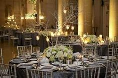 like the grey table linens.  softer than black but give same effect.