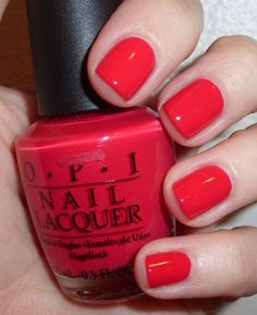 """My toes are currently painted """"Red Hot Ayers Rock"""". How could I resist with a name like that?"""