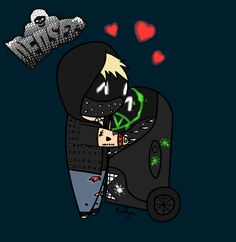 Look at this chibi ! I'm so proud of my Wrench and Junior :')  #WatchDogs2 #Wrench #Junior #Dedsec
