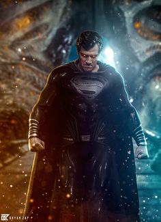 Mundo Superman, Superman Art, Batman Artwork, Batman Comic Art, Marvel Dc Comics, Evil Superman, Superman Black Suit, Superman Man Of Steel, Dc Comics Characters
