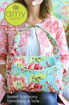 Sweet Harmony Handbag and Tote, Amy Butler Sewing Pattern