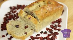 Cranberry Banana Bread from Cooking with Carlina