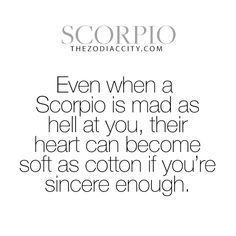 Zodiac Scorpio Facts. Get familiar with your zodiac sign here.
