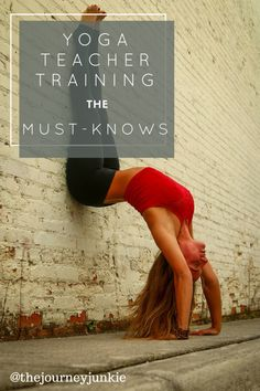 Yoga Teacher Training - the absolute must-knows!