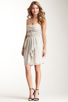 Rieley Ruched Sweetheart Dress on HauteLook
